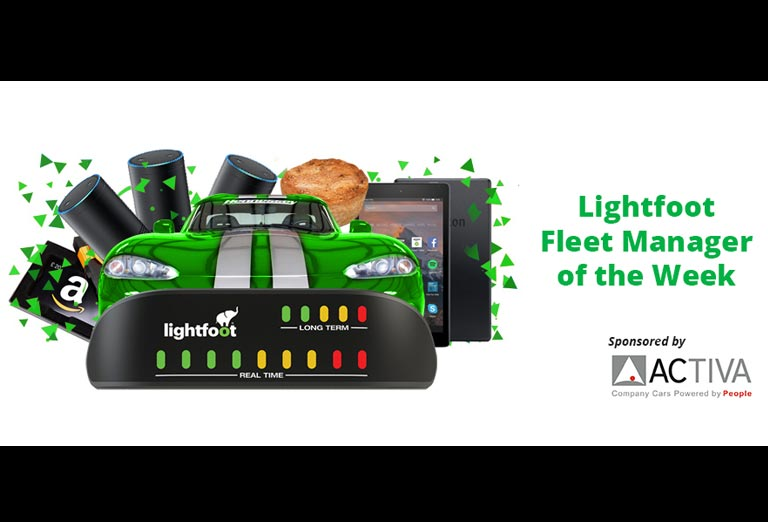 Lightfoot launches all-new 'Fleet Manager of the Week' initiative, sponsored by Activa