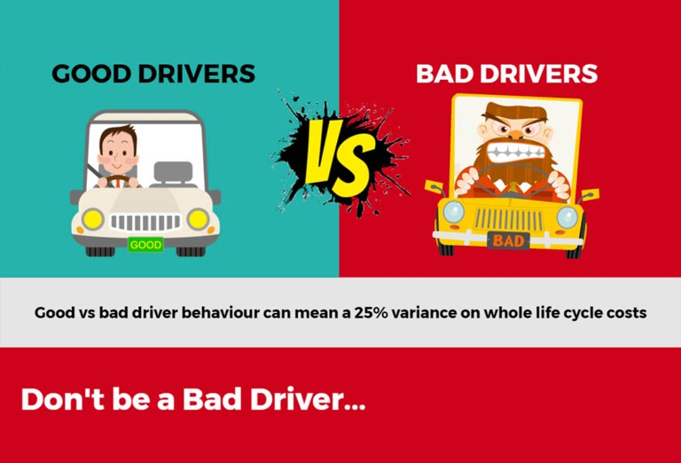 changing driver behaviour can help the environment