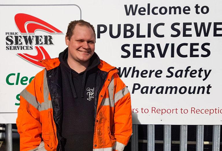 Fleet Driver of the Week – Robert Garten (Public Sewer Services)