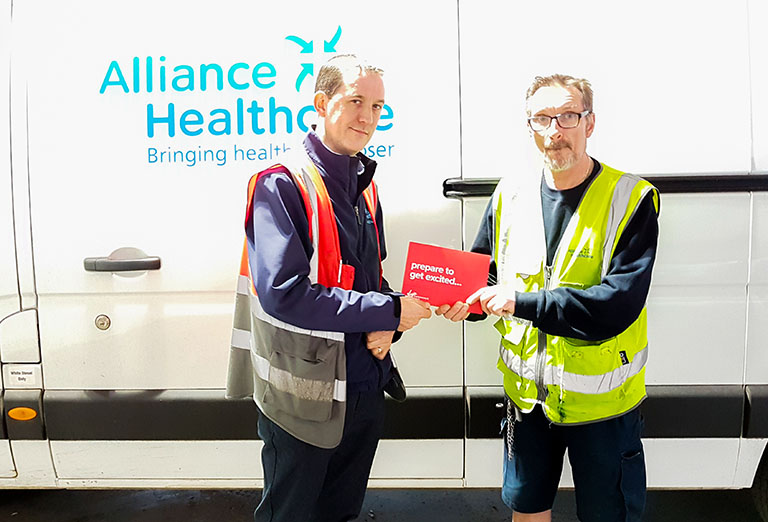 Fleet Driver of the Week – Philip McCabe (Alliance Healthcare)