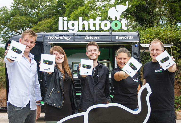 Lightfoot launches driver rewards technology to private motorists