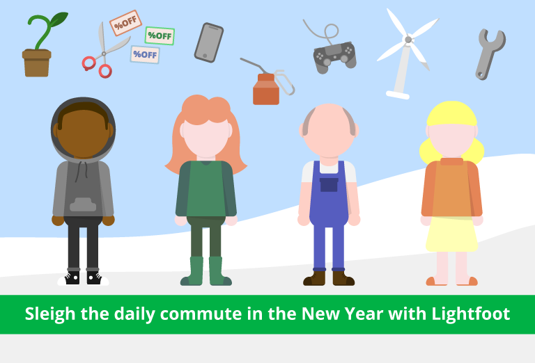 Sleigh the daily commute in the new year with Lightfoot