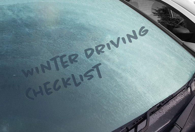 The ultimate winter driving checklist