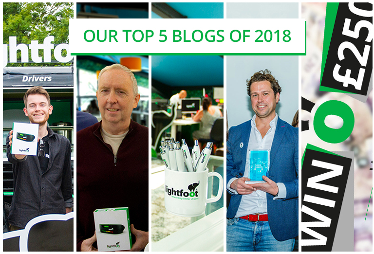 Top five blog posts in 2018