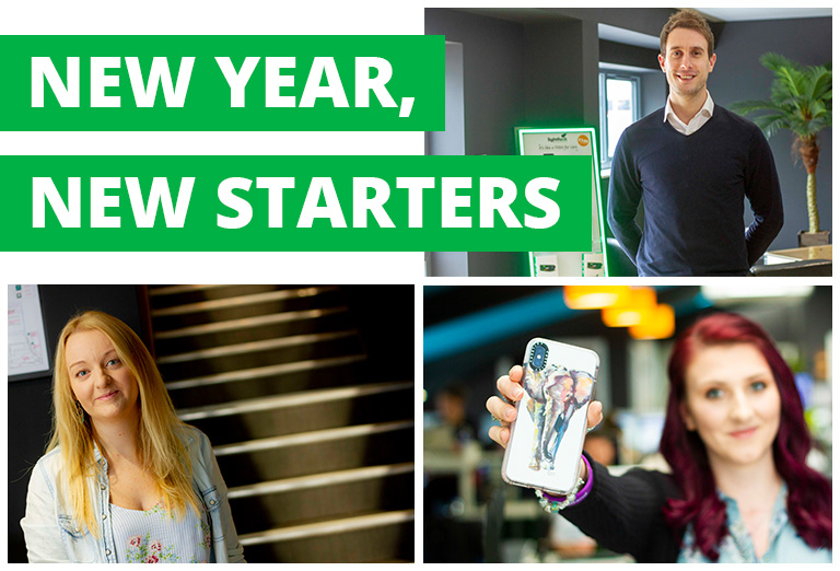 New year, new starters