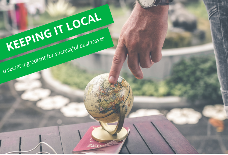 Keeping it local: a secret ingredient for successful businesses