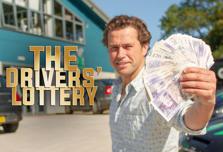 Boost staff engagement with The Drivers' Lottery